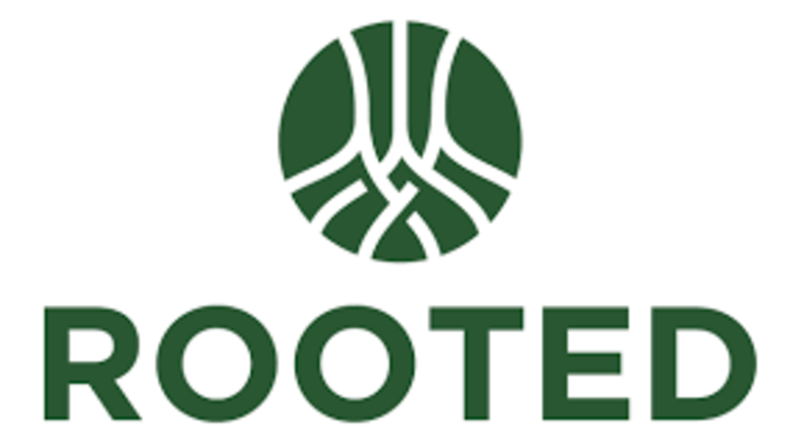 ROOTED logo image