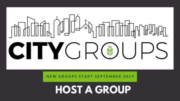 Host a City Group  for the September. - November Trimester logo image