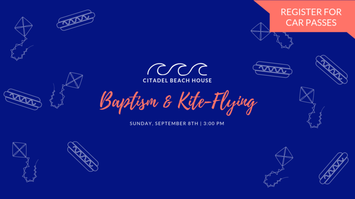 Citadel Beach House Baptism & Kite-Flying logo image