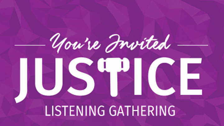 Justice Group Listening Gathering RIVERVIEW logo image