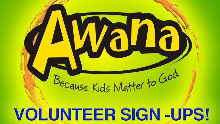 Volunteer Sign Up for AWANA Clubs 2019-2020 logo image