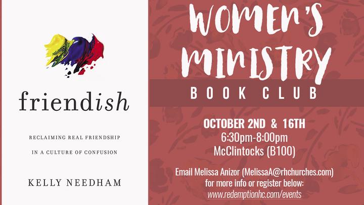 Women's Book Club   logo image