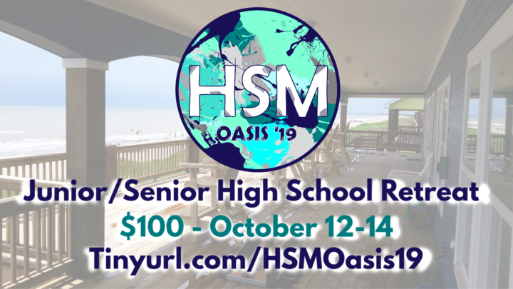 HSM - Oasis '19 - Jr/Sr Beach Retreat logo image