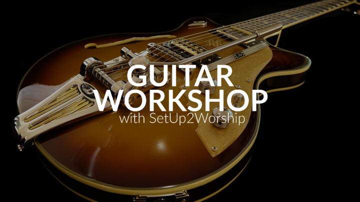 Guitar Workshop - SetUp2Worship logo image