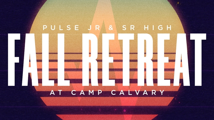 2019 Pulse Jr & Sr High Retreat  logo image