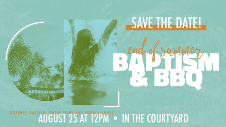 Baptism & BBQ logo image