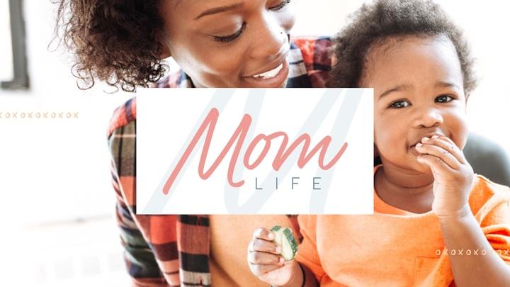 Mom Life logo image