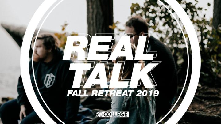 College Fall Retreat logo image