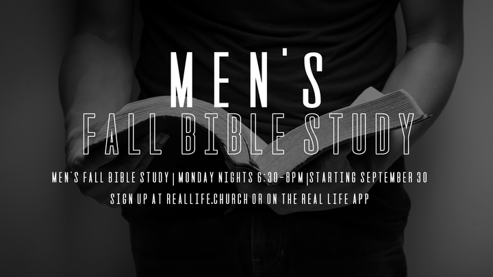 Men's Bible Study - A Study of 1, 2 & 3 John logo image