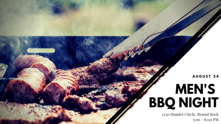 Men's BBQ Night  logo image