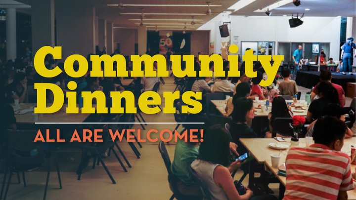 Sep & Oct 2019 Community Dinners logo image