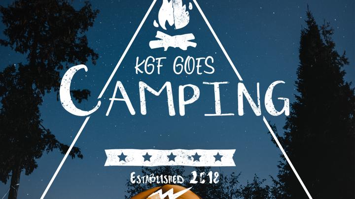 KGF Goes Camping 2019 logo image