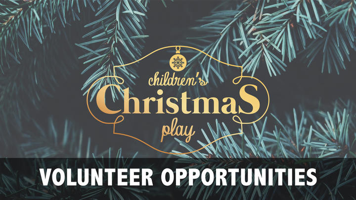 Christmas Play Volunteer Opportunities logo image