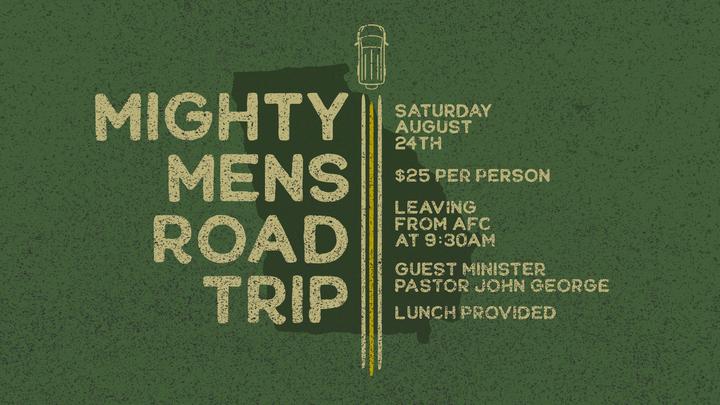 Mighty Men Road Trip logo image