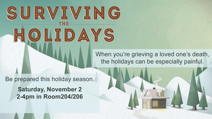 Grief Share Surviving the Holidays Seminar logo image