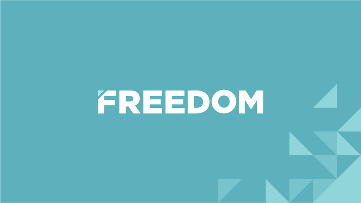 Freedom (Book included)  logo image