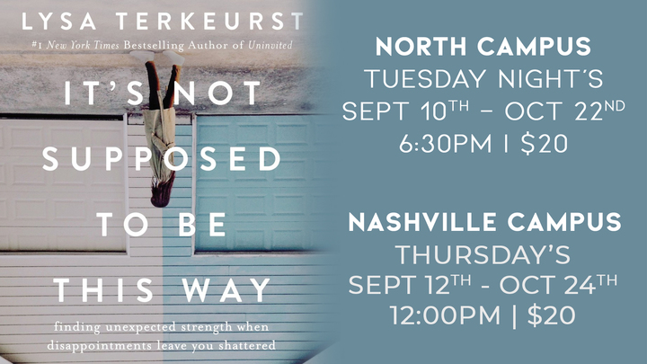 It's Not Supposed To Be This Way | Nashville Campus logo image