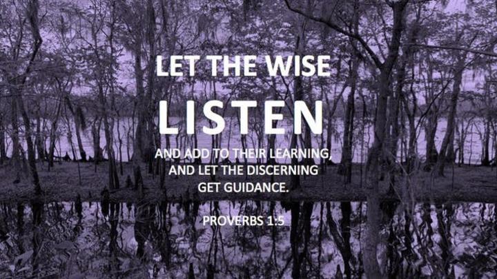 Wisdom Academy: Be Quick To Listen logo image