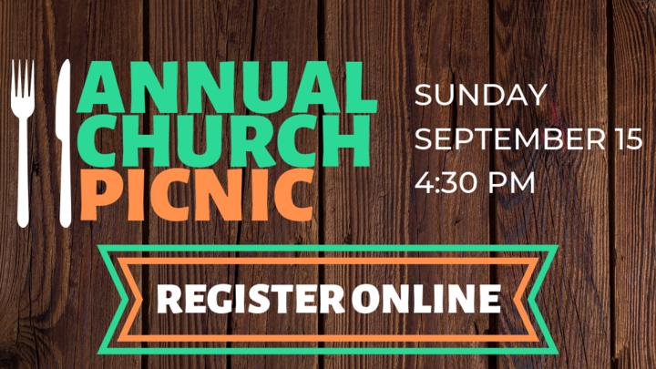 Annual Church Picnic logo image