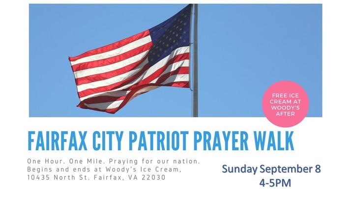 "Patriot Day ""Cry Out America"" Prayer Walk logo image"