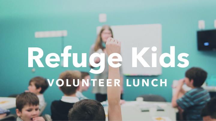 Refuge Kids Volunteer Lunch logo image