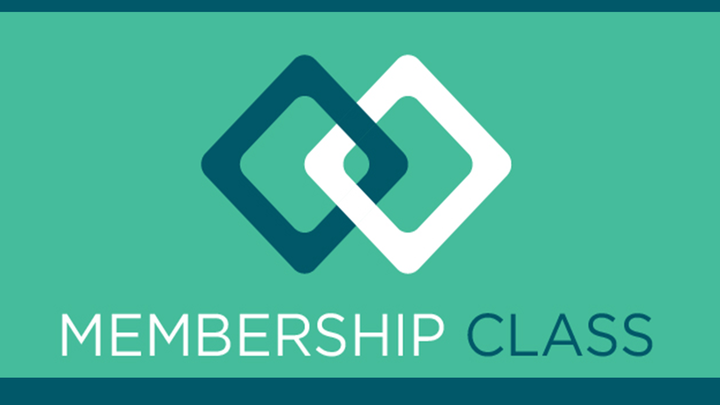 Membership Class - October 9 logo image