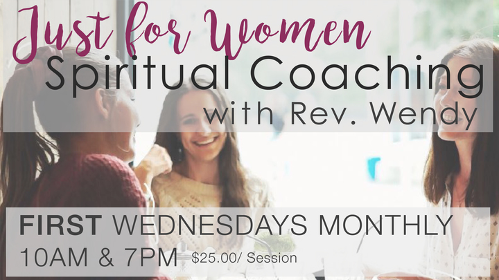 Just for Women: Spiritual Coaching  with Rev. Wendy Craig-Purcell (October Morning) logo image