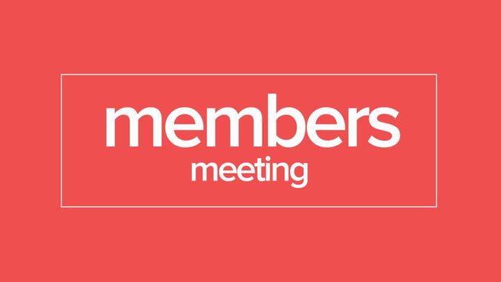 TG | Member's Meeting September logo image
