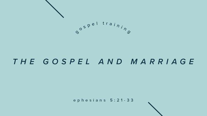 Fall Workshops: The Gospel and Marriage logo image