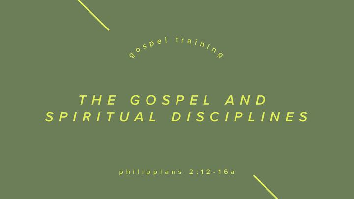 Fall Workshops: The Gospel and Spiritual Disciplines logo image