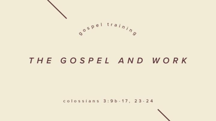 Fall Workshops: The Gospel and Work logo image