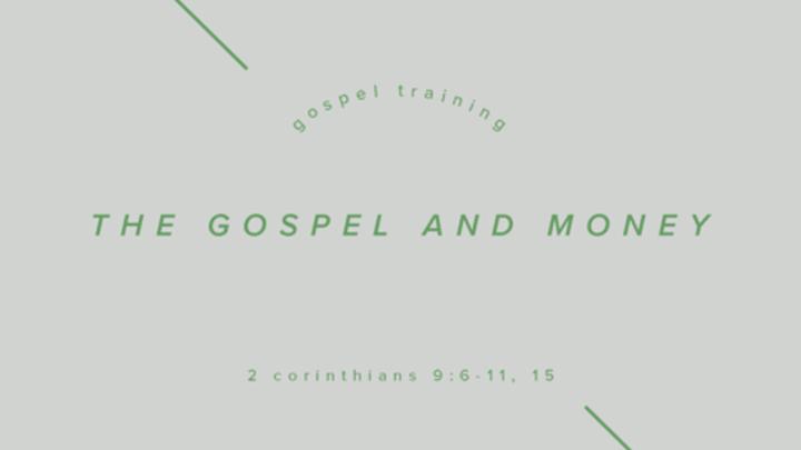 Fall Workshops: The Gospel and Money logo image