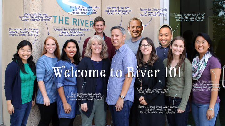 River 101 Fall 2019 Registration logo image