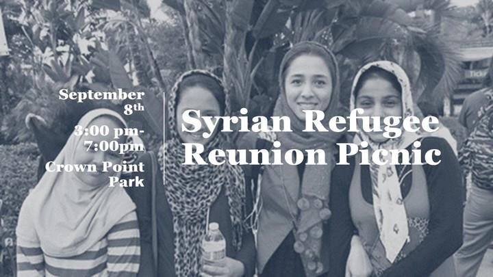 Syrian Refugee Reunion Picnic logo image