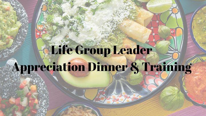 Life Group Appreciation Dinner & Training  logo image