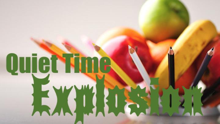 Quiet Time Explosion logo image