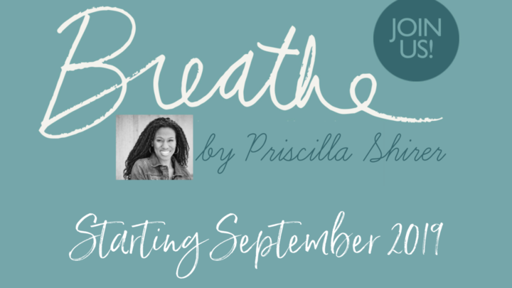 Ladies Bible Study - Breathe logo image