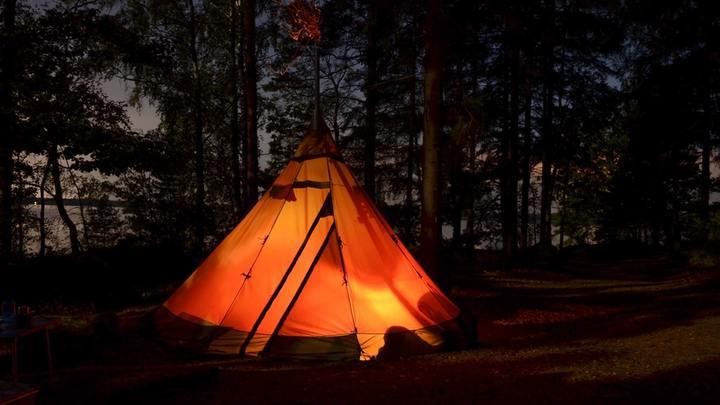 Church-Wide Camping Retreat logo image
