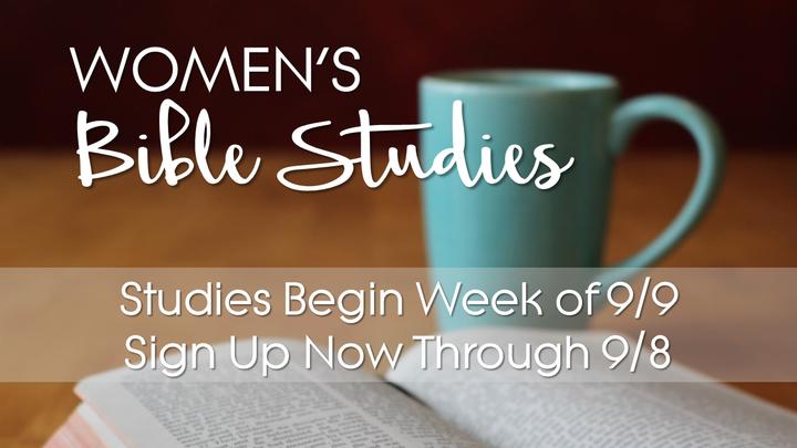 Women's Bible Study  - Fall 2019 logo image
