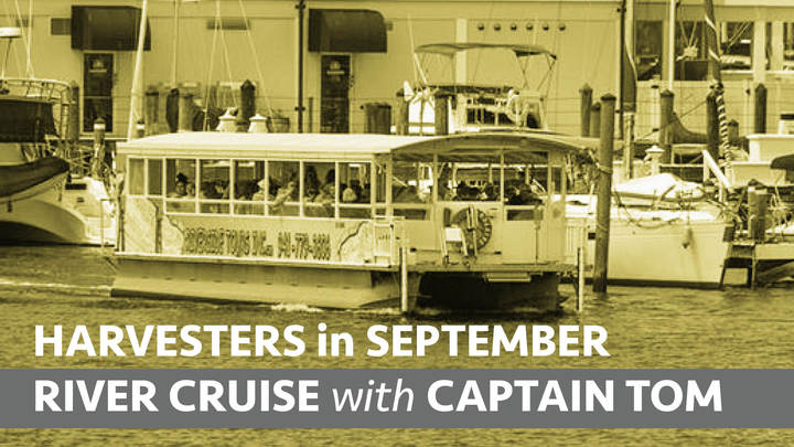 HARVESTERS RIVER CRUISE with CAPTAIN TOM logo image