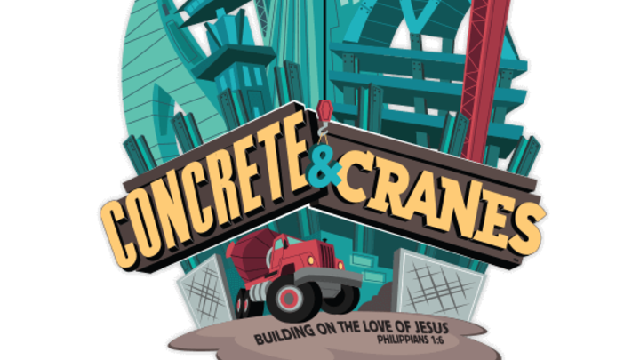 Vacation Bible School-CONCRETE & CRANES logo image