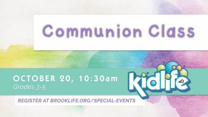 Kidlife Communion Class logo image