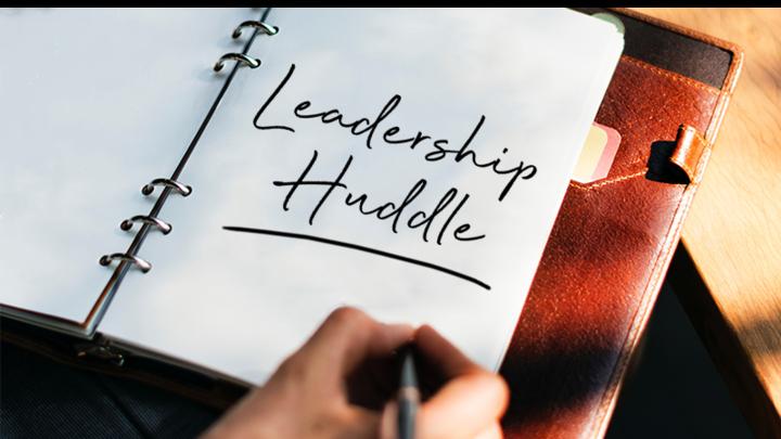 Leadership Huddle logo image