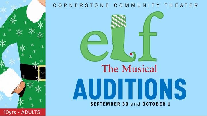 Elf AUDITIONS logo image
