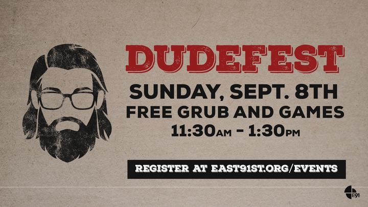 DudeFest logo image