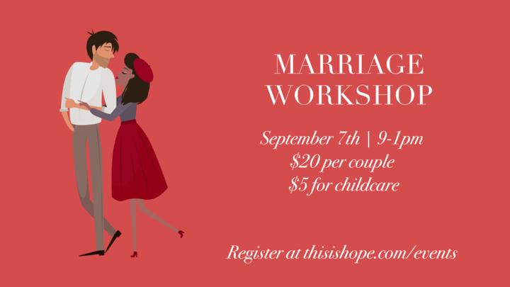 Marriage Workshop  logo image