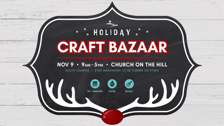 Holiday Craft Bazaar: Vendor Application logo image
