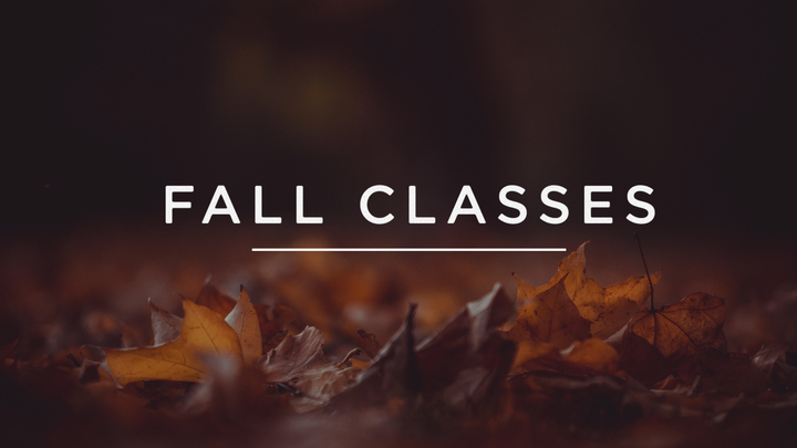 How Jesus Changes Us | Fall 2019 Class logo image