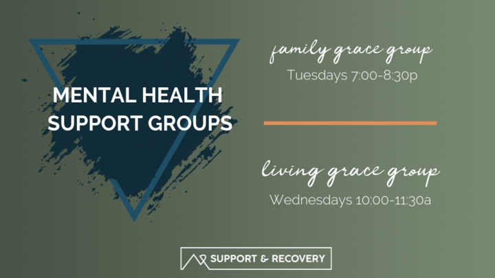 Mental Health Support Groups logo image