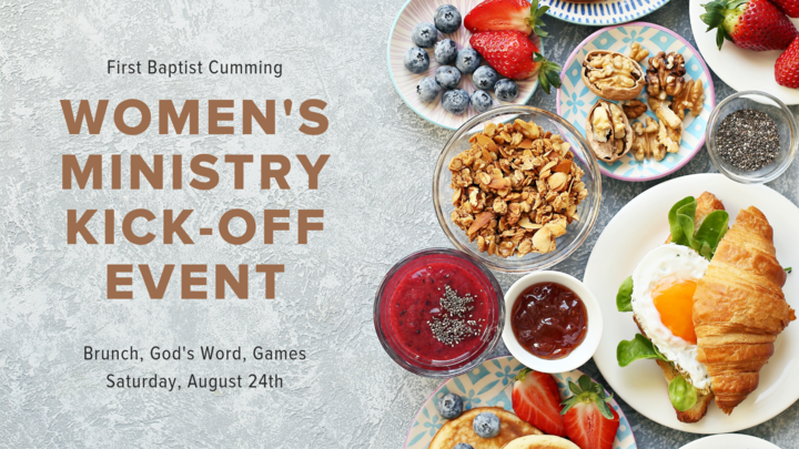 Women's Ministry Kick-Off Event logo image